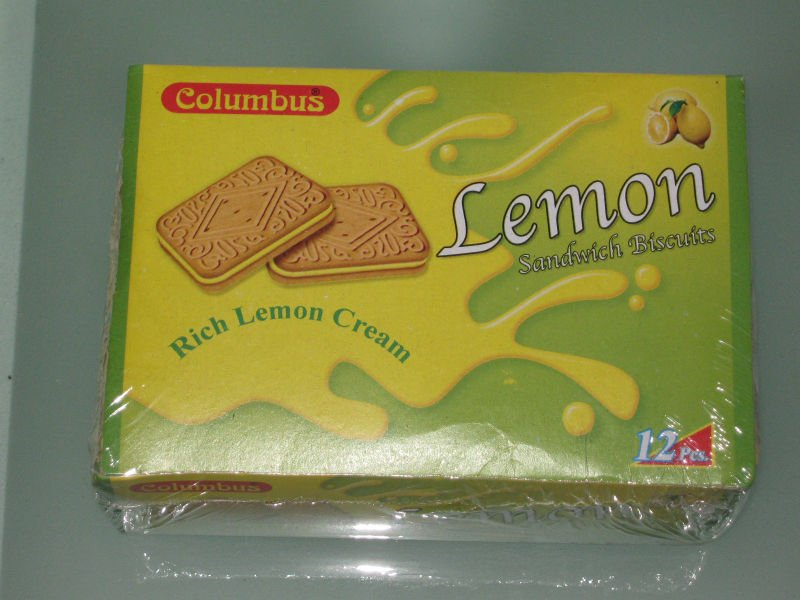 Lemon Sandwich Biscuit