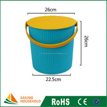 Hot Sale plastic drink buckets, small water buckets, household buckets