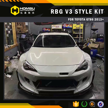 For gt86/brz/scion/frs body kit rocket version 3 design kit for toyot a 86