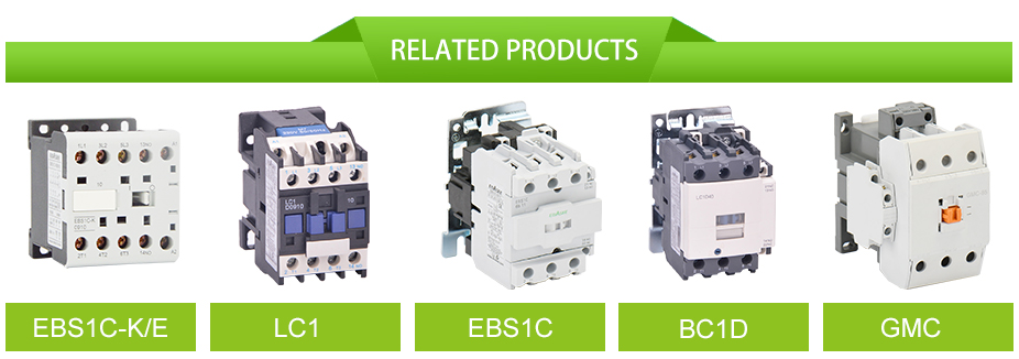 Hot selling LC1D 1NO+1NC 40A, 50A, 80A, 95A AC contactor