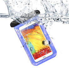 Top selling cheap custom universal swimming beach dry bag waterproof PVC phone case with shoulder strap