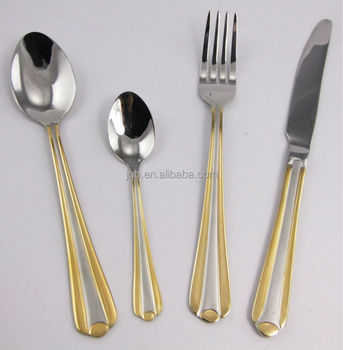 2016 Chistmas Best Selling Stainless Steel Flatware Set