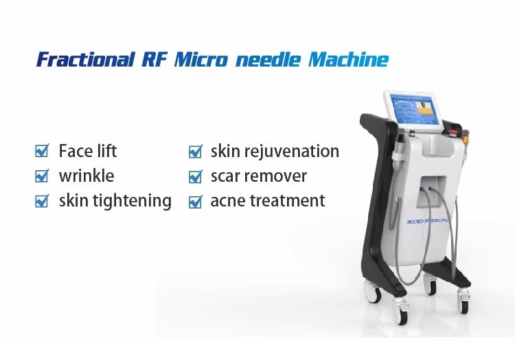 Multifunctional medical grade machine fractional micro needle therapy system microneedling