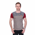 Summer Fashion Men's T Shirt Casual Patchwork Short Sleeve T Shirt Mens Clothing Trend Casual Slim Fit Hip-Hop Top Tees