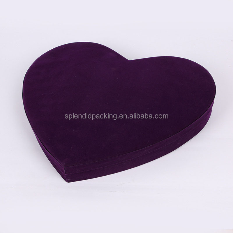 Heart Shaped Packaging Box Recycled Paper Wedding Box Candy