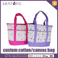 Cotton Bag / Pouch Cotton Shopper Bag With Gusset