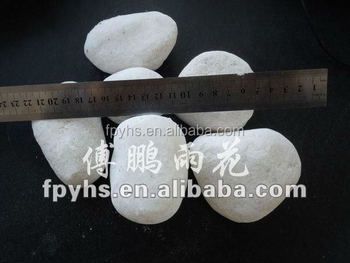 snow white ground garden paving gravels