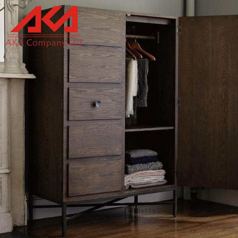 Home furniture bedroom wardrobe design/cheap wardrobe closet/solid wood wardrobe closet
