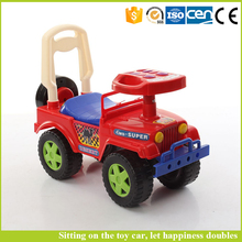 Good quantity toys toys children car battery happy swing car without electric