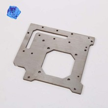 High precision aluminum perforated laser cutting sheet metal service