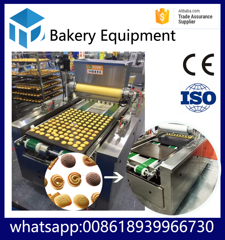 HYDXJ-600 Cookies biscuit molding machine, Cookies depositor,wire cutting cookie machine