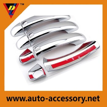chrome car door handle cover auto body accessoires for Audi Q7