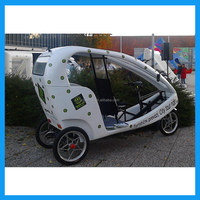 Three wheel auto rickshaw adult electric tricycle
