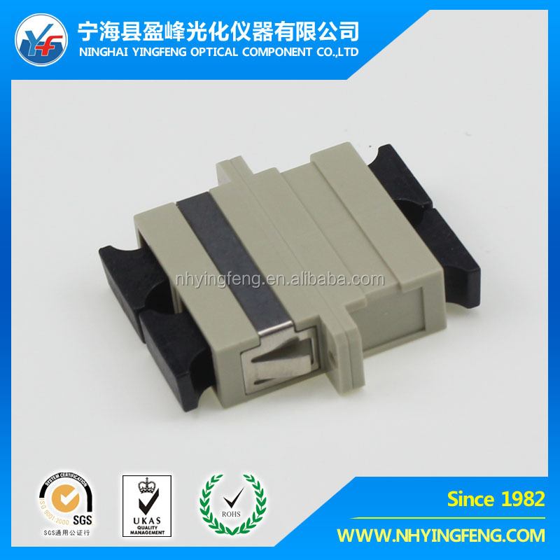 Good quality manufacturer supply SC Multimode Duplex Adapter with ear