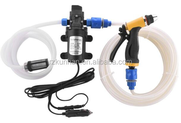 12v portable Hot selling car wash high pressure water pump for car