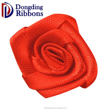 Festival decorative ribbon, red rose satin ribbon bows for garment hair accessories