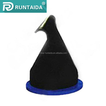 Flanged mini silicone rubber duckbill valve