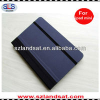 hot sale book style leather case with bamboo frame for ipad mini IBC23A