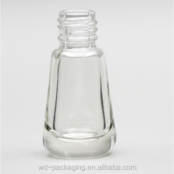 5ml free sample nail polish glass bottle with cap and brush from Weida WD-00037 bottle