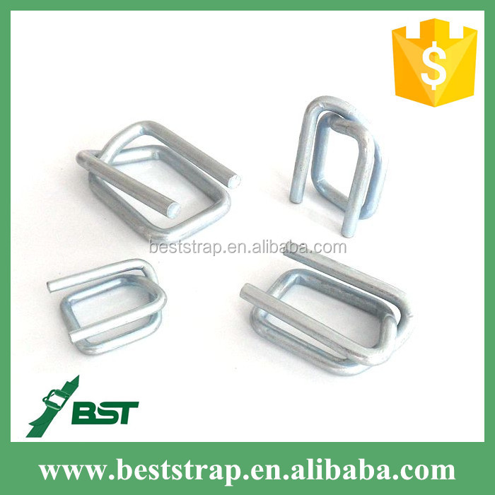 BST 32mm Serrated Strapping Seals, wire buckle for Cord strap