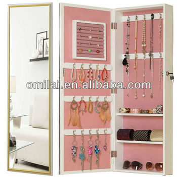 MDF wall mirror jewerly amoire