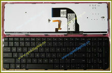 Spare part for HP Pavilion dv7-7000 keyboard with backlight cable