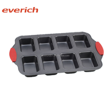 Everich custom silicone sleeve pizza cake carbon steel pan