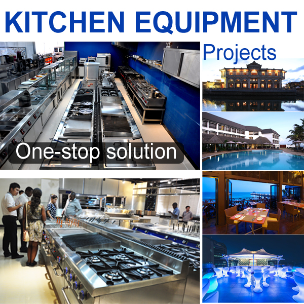 Full Solution 5 star Hotel Stainless Steel Commercial Kitchen Equipment
