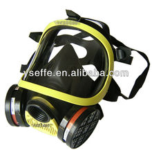Double canister gas mask,protective respirator