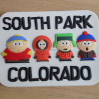 Colorado South Park Character Tourist Soft