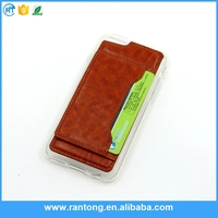 Hybrid Case TPU leather with card For Samsung Galaxy S4 I9500 Case 2in1 Design