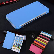 Simple Luxury Protective Folio Flip Hard Back PU Leather Case For Huawei P6 P7 P8 P9