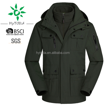 Winter men glacier canyon parka