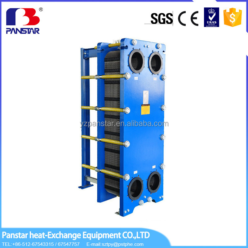 Reasonable price Refrigeration Compressor nitrogen evaporator for plating solution cooling