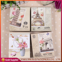 New Design Building Style Traditional Pocket Photo Album