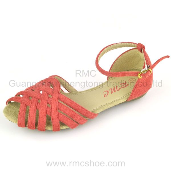 RMC ankle all age fashion lady peep -toe sandal