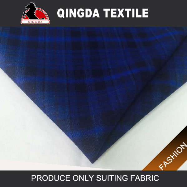 Noble classical polyester cotton suiting fabric uniform fabric factory in vietnam TX-W1923 blue wool scale
