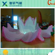 New design artificial lotus flower/inflatable lighting for decoration