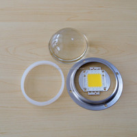 100w led high bay light module with Glass lens with Heat sink