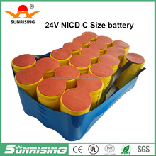 NICD or NIMH battery pack Power tool battery For Dewalt 24v 3ah rechargeable batteries