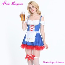 Best Seller Sexy French Beer Maid Costume Pattern