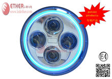 7 inch led Angel Eyes headlight Matching jeep led tail lamps