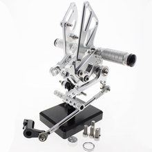 FXCNC Full CNC aluminum Motorcycle Rearsets Rear Set racing motorcycle foot pegs