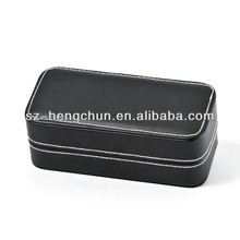 High Quality Leather Pocket Watch Box For Sale(ZJ_80091-1)