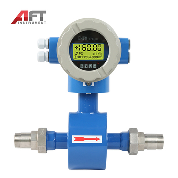 thread connection electromagnetic flow meter RS485 output water flowmeter
