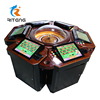 steel Cabinet material casino wheel roulette game 12 seats roulette machine