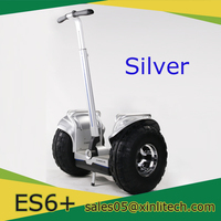 Classic Color Silver 19inch Water-proof Brushless Motor with Big tyre Cross-country Wheeler