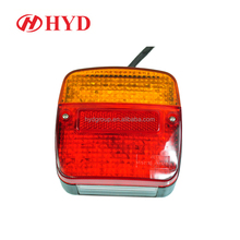 HYD80905 Professional led tail rear light round stop tail light waterproof led combination light lamp with reflector