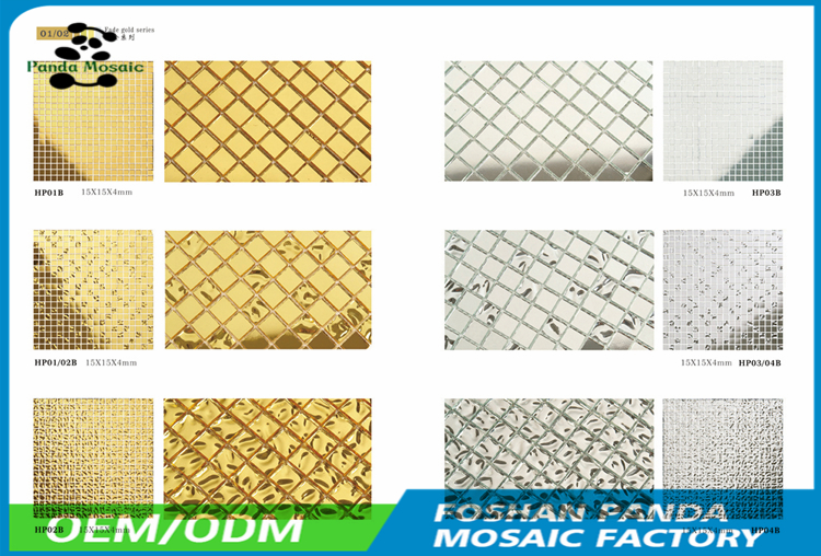 Supplier mosaic pure hand made swimming pool general use glass mosaic selling