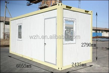 ISO 9001 morden design container homes for sale / 20 foot container house office